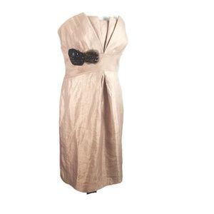 Vera Wang Lavender Label Womens Dress 10 Strapless